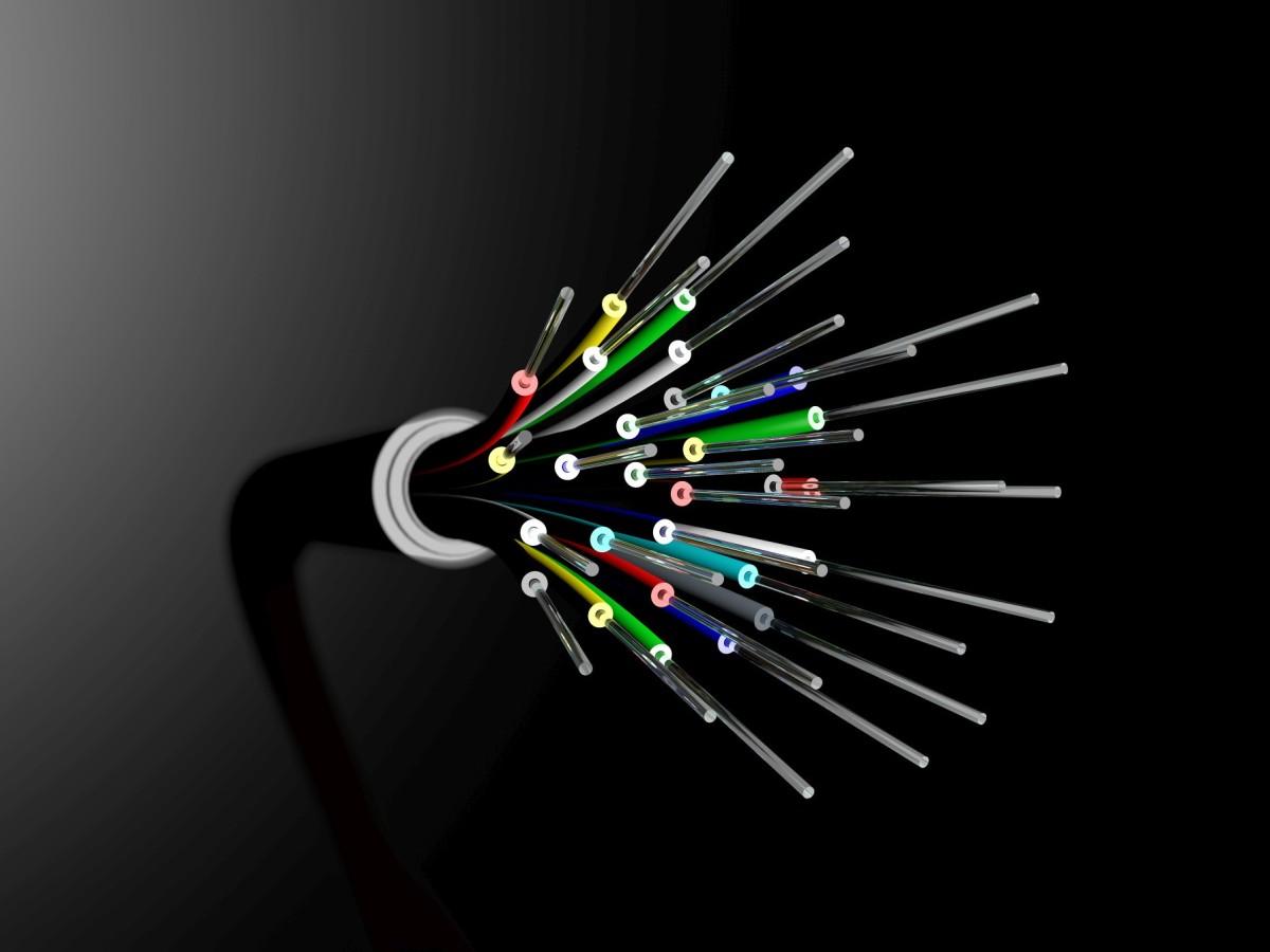 A fiber optic cable